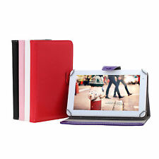 """9"""" Folio PU Leather Smart Stand Case Cover for Tablet PC in Multi-Color"""