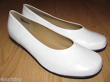 Women's beautiful Jubilee Flats Whites, NEW, Buy, Save and Enjoy!! 5US Sz TO 11!