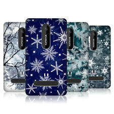 HEAD CASE DESIGNS WINTER PRINTS CASE COVER FOR NOKIA ASHA 210