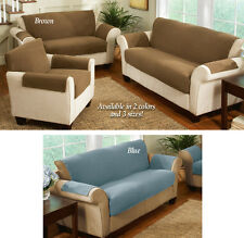 Collections Etc Fleece Living Room Furniture Covers