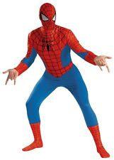 Adult Spiderman Classic Comic Spiderman Halloween Costume Fancy Dress Up