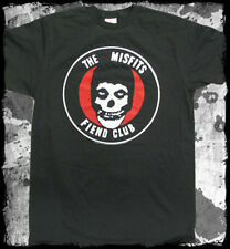 Misfits - Old School Fiend Club - Vintage Black t-shirt - Official Merch