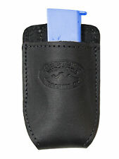 NEW Barsony Black Leather Magazine Pouch for Smith&Wesson Mini/Pocket 22 25 380