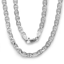 """925 Sterling Silver Marina chain Necklace for pendant 16"""", 18"""", 20"""", 22"""",24"""", 30"""