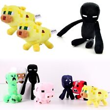 NEW Minecraft Overworld Creeper Animal Plush Soft Toy Doll Jazwares Game 1/7 PCS