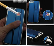Hot Cool Design Phone Case With Cigarette Lighter Metal Cover for iphone5/5S/6