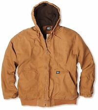 KEY Insulated Dickies Duck Jacket Black & Brown (M-2XL) Regular & Tall