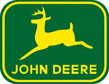 john deere vinyl decal window or bumper sticker emblem badge