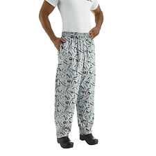 Chefwear 3500-06 Ultimate Chef Pant Utensils all sizes XS-4XL NEW!