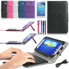 Wireless Bluetooth Keyboard + Case Cover for Samsung Galaxy Tab 3 7.0 T210 P3200