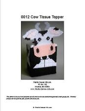 Cow Tissue Topper-Plastic Canvas Pattern or Kit