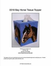 Bay Horse Tissue Topper-Plastic Canvas Pattern or Kit