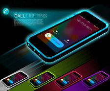 TPU Incoming Call LED Blink Transparent Back Case For iPhone 6 4.7 Plus 5 5S G