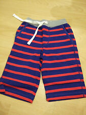 Mini boden boys jersey baggies striped cotton shorts age 2 3 4 5 years NEW