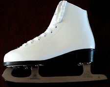 Womens Ladies  Girls White  Figure ice Skates Boots  3.0, 4.0,  5.0,  RRP £49:99