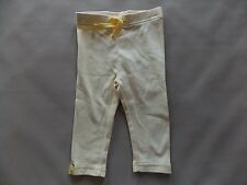 NWT Boy's Gymboree Cutie Crab yellow striped elastic pants ~ 3 6 12 months