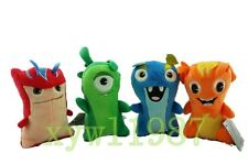 "Slugterra Animation Plush Soft Toys Doc Bludgeon Burpy Joules 5.9"" Kids Gifts"