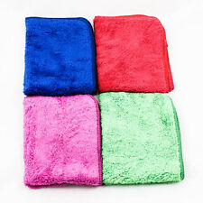 "H/Quality Microfiber Cleaning Towels Clothes Car Wash Hand 12""x15"" Kitchen A0122"