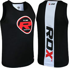 Authentic RDX kids Training T Shirt Vest Junior Youth Rash Guard Gym Suit Wear W