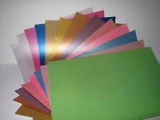 25 Sheets Pearlescent Shimmer A4 90gsm 1-Sided Paper for Cardmaking & Crafts