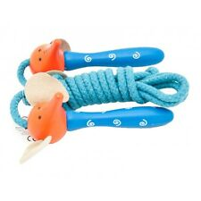 Wooden Animal Skipping Ropes - Assorted Wooden Handled Skipping Ropes - Toys
