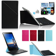 """USA Stock Thin Bluetooth Keyboard With Stand Case For 9"""" 9.7"""" 10"""" 10.1"""" Tablets"""