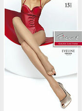 Fiore Eveline Toeless Open Toe Summer Tights 15 Denier 1 Pair 4 Color Choices