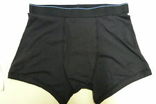 2 PACK MENS MARKS AND SPENCER COOL AND FRESH BLACK TRUNKS SHORTS BOXERS ALL SIZE