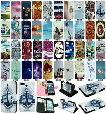 Popular flip wallet pu leather stand case cover for Samsung Galaxy Trend Series