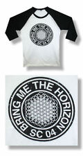 BRING ME THE HORIZON - SC 04 - RAGLAN WHITE T-SHIRT S, M, XL, 2XL, 3XL A140