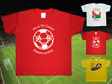ARSENAL Football Baby/Kid's/Children's T-shirt Top Personalised -Any colour/team