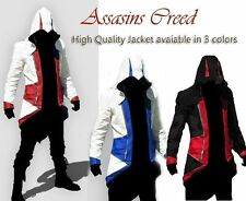 NTW Assassin's Creed III Conner Kenway Coat Jacket Hoodie Cloak Cosplay Costume