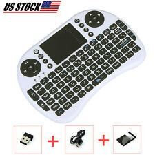 Wireless Keyboard With TouchPad Mouse REmote Compatible For SAMSUNG SMART TV USB