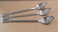"""Restaurant 13"""" or 15"""" Stainless Basting Cooking Spoon Stainless Spoons Kitchen"""