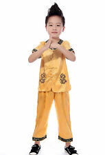 Sell it yourself Boy's Asian Chinese Mandarin Kung Fu Costume size 2-16