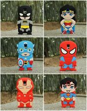 New Cartoon 3D USA Super Hero Silicone Case For Samsung Galaxy Note 4 N9100