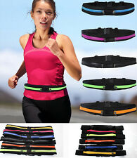 Running Jogging Sports Gym Waist Belt Soft Bum Bag Case Cover Strap For phones