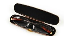 RG12/1    High Quality, Metal Frame, Gold tip, Reading Glasses with Metal Case