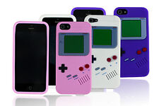 Nintendo Gameboy Game Boy Soft Silicone Case Cover Skin For iPhone 5s 5 US Stock