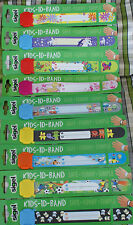 ID wrist band Re-Useable Kids Childrens Infants firework concert event festival