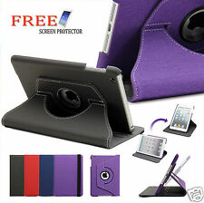 Slim Smart Cover Case 360 Rotating for Apple New iPad 4 3 2