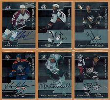 2001-02 ,ITG ,IN THE GAME ,BAP ,REG & GOLD ,SIGNATURES ,PICK FROM DROP-DOWN LIST