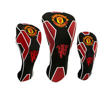 MAN UNITED  EXECUTIVE GOLF HEADCOVER (Driver, Fairway Wood, Rescue) FROM £15.49