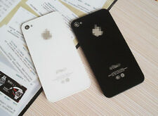 New Genuine Glass Battery Back Cover Door Replacement For iPhone 4/4S