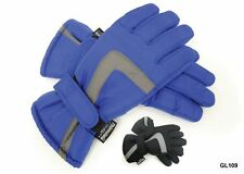 Kids Boys 3M Thinsulate Insulated Padded Ski Snow Gloves Palm Grip Winter Warm