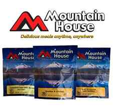 Mountain House Freeze Dried Meals Pouches Camping Food / Emergency Food