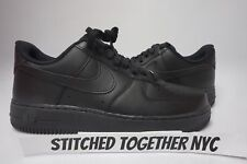 (315122-001) MEN'S NIKE AIR FORCE 1 '07 BLACK/BLACK