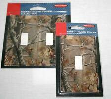 REALTREE CAMOUFLAGE SINGLE OR DOUBLE LIGHT SWITCH COVER
