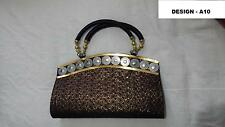 LADIES EXOTIC INDIAN CLUBBING , EVENING, PARTY, WEDDING, PROM,HAND,CLUTCH   BAG