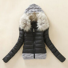 New Women's Thicken Hooded Down Jacket Hooded Coat parka Outwear Trench Overcoat